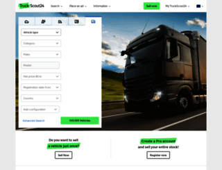 truckscout24.com screenshot