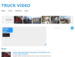 trucksvideo.com screenshot