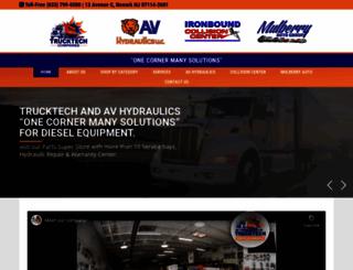 trucktechparts.com screenshot