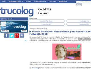 trucolog.com screenshot
