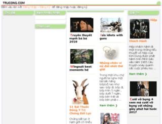 trucong.com screenshot