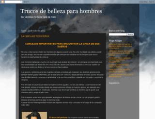 trucosbellezamasculina.blogspot.com screenshot
