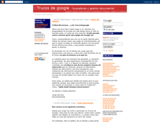 trucosdegoogle.blogspot.fr screenshot
