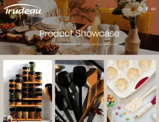trudeaucorp.com screenshot