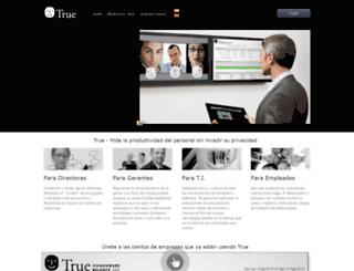 trueatwork.com screenshot