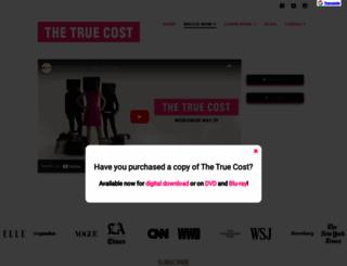 truecostmovie.com screenshot