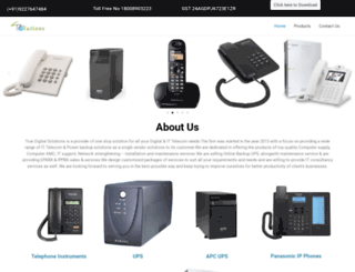 truedigitalsolutions.in screenshot