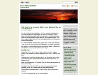 truedsicernment.com screenshot