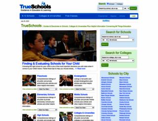 trueschools.com screenshot