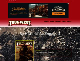 truewestmagazine.com screenshot