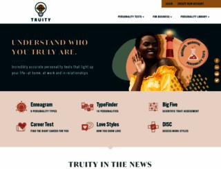 truity.com screenshot