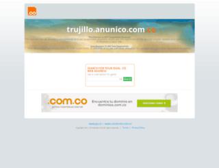 trujillo.anunico.com.co screenshot