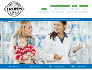 trummdrug.com screenshot