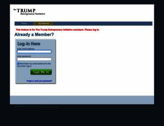 trumpuniversity.com screenshot