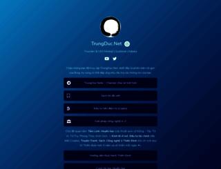 trungduc.net screenshot