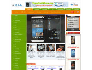 trungtamdidong.com screenshot