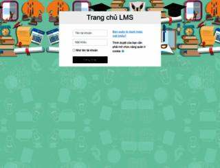truongtructuyen.edu.vn screenshot