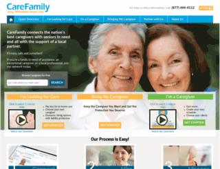trust.carefamily.com screenshot