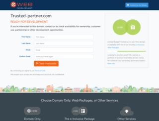 trusted-partner.com screenshot