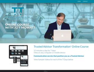 trustedadvisortransformation.com screenshot