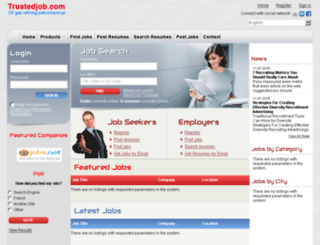 trustedjob.com screenshot