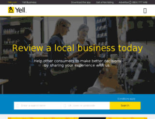 trustedplaces.com screenshot