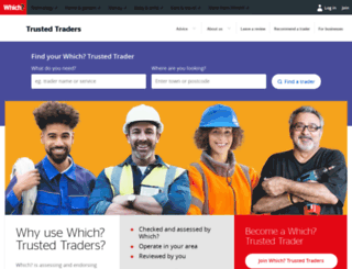 trustedtraders.which.co.uk screenshot