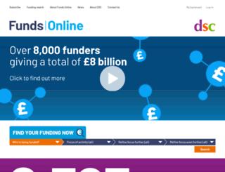 trustfunding.org.uk screenshot
