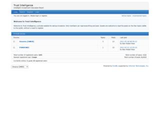 trustintelligence.com screenshot