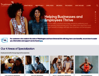 trustmarkcompanies.com screenshot