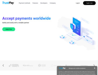 trustpay.eu screenshot