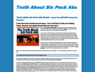 truthaboutsixpackabsebook.blogspot.com screenshot