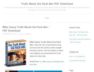truthaboutsixpackabspdf.wordpress.com screenshot