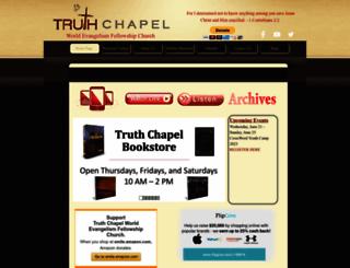 truthchapel.org screenshot