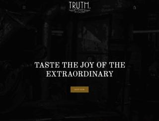 truthcoffee.com screenshot