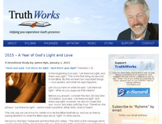 truthworks.org screenshot