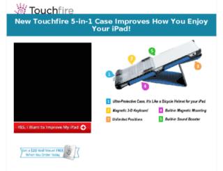 try.touchfire.com screenshot