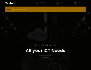 tryben.co.tz screenshot