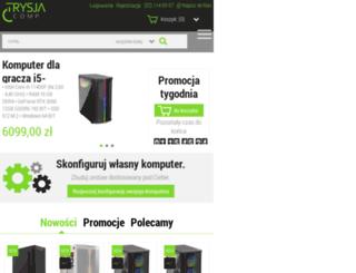 trysja.pl screenshot