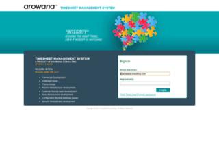 ts.arowanaconsulting.com screenshot