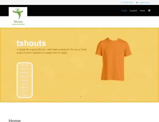 tshouts.in screenshot