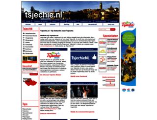 tsjechie.nl screenshot