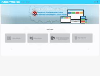 tsm-mersis.gumrukticaret.gov.tr screenshot
