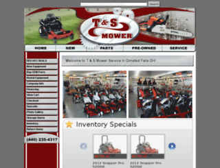 tsmower.com screenshot