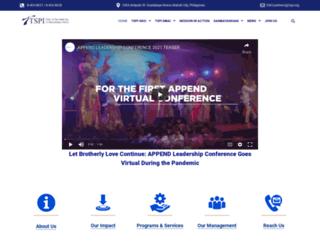 tspi.org screenshot