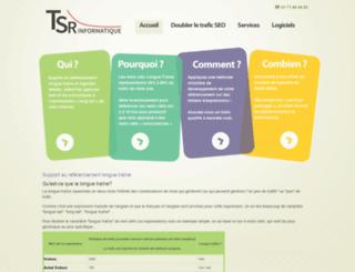 tsr-informatique.fr screenshot