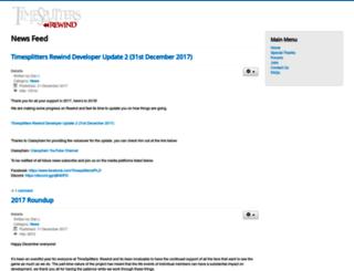 tsrewind.com screenshot