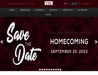 tsu.edu screenshot