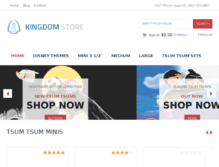 tsumtsumplushes.com screenshot