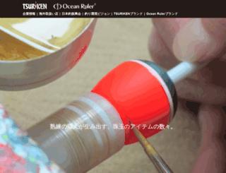 tsuriken.co.jp screenshot